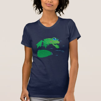 Diving Frog T Shirt
