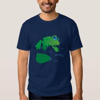 Diving Frog Tees