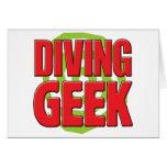 Diving Geek Cards