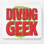 Diving Geek Mouse Mat