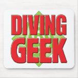 Diving Geek v2 Mousepad