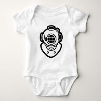 Diving Helmet Baby Bodysuit