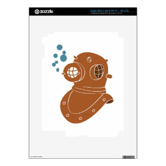 Diving Helmet iPad 3 Skins