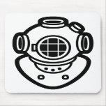 Diving Helmet Mousepad