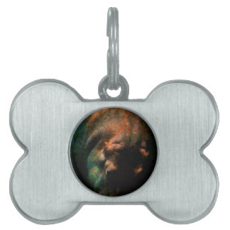 DIVING HIPPO PET TAG