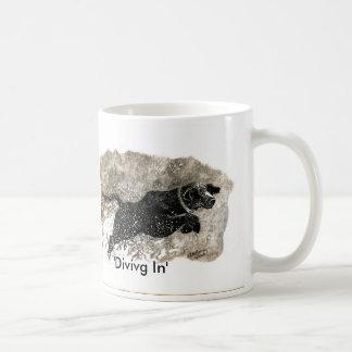 Diving In Mug