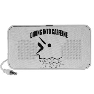 Diving Into Caffeine Portable Speaker