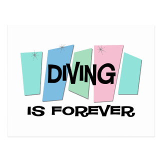 Diving Is Forever Postcard