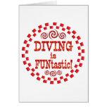 Diving is FUNtastic Greeting Card