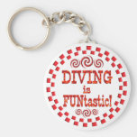 Diving is FUNtastic Key Chains