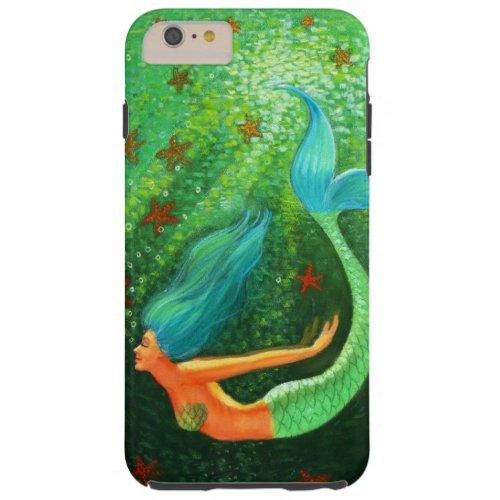Diving Mermaid fantasy art iPhone 6 Plus case Phone Case
