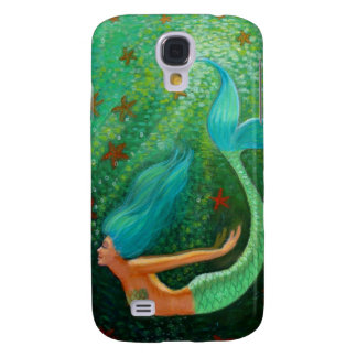Diving Mermaid Samsung Galaxy S4 Cases