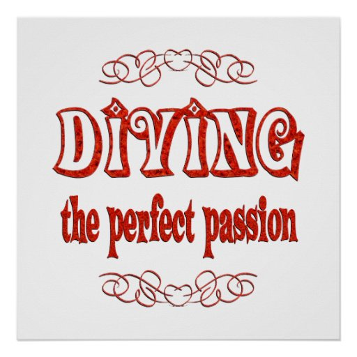 Diving Passion Poster
