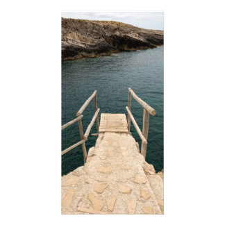 Diving place photo card