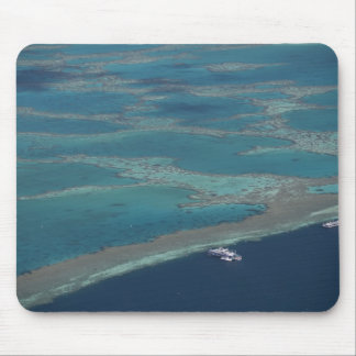 Diving platforms near reef, Great Barrier Mouse Pad