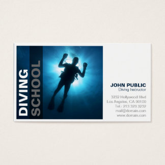 Diving School Business Card