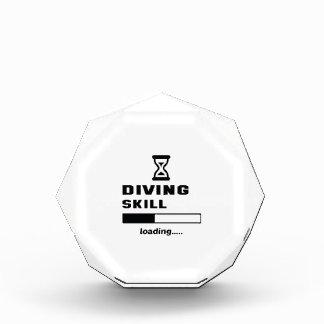 Diving skill Loading...... Acrylic Award