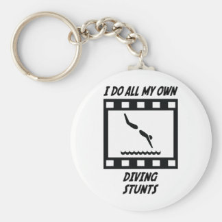 Diving Stunts Keychains