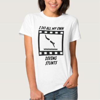 Diving Stunts T-Shirt