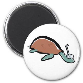 diving tortoise magnet