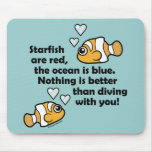 Diving With You Mouse Pad