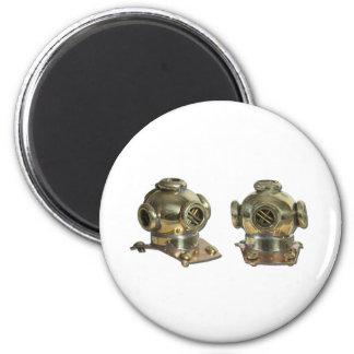 DivingHelmet081212.png 2 Inch Round Magnet
