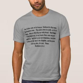 Divinity Athletics Matthew 6:9-13 Tshirt