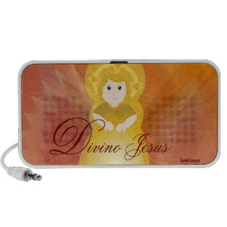 Divino Jesus Dazzling Love Fiery Angel's Wings Speakers