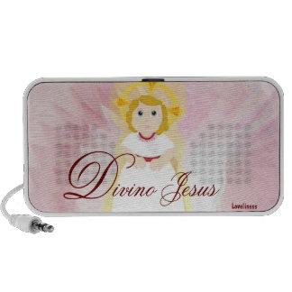 Divino Jesus Dazzling LoveBurgundy Angel's Wings Notebook Speaker