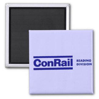 División 1976 de la lectura de Conrail Imán Cuadrado