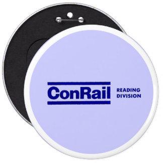 División 1976 de la lectura de Conrail Pin