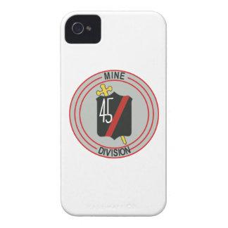 División 45 Case-Mate iPhone 4 protectores