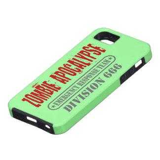 División 666 de la apocalipsis del zombi iPhone 5 fundas
