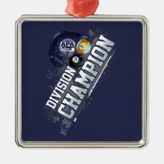 Division Champion Metal Ornament