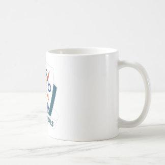 División de 10 montañas taza de café