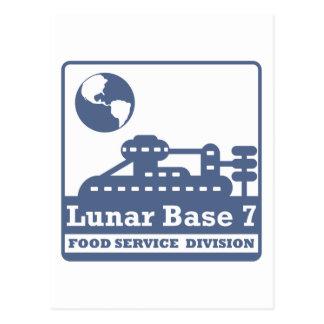 División de alimentación lunar postal