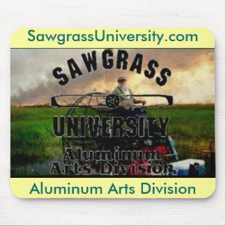 División de aluminio MousePad de los artes de Sawg Tapete De Ratón