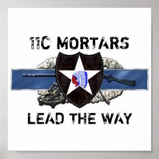 división de infantería 11C 2do Póster