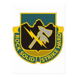 División de infantería 2 tarjeta postal