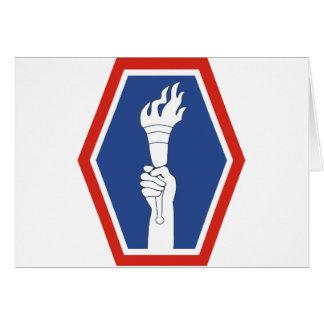División de infantería 442 tarjeta de felicitación
