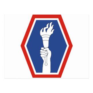 División de infantería 442 tarjeta postal
