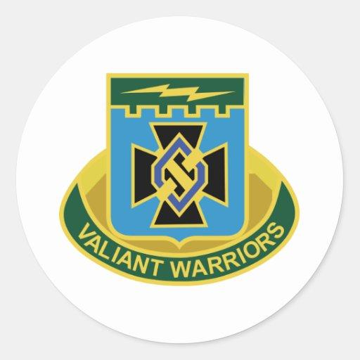 División de infantería del 3ro equipo de combate etiquetas redondas