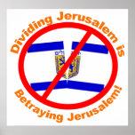 División de Jerusalén Impresiones