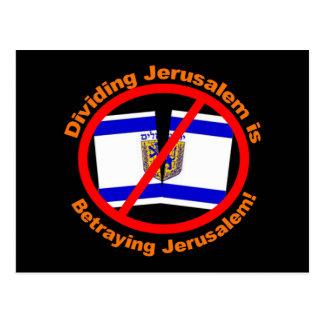División de Jerusalén Postal