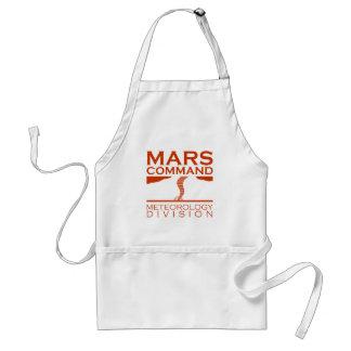 División de la meteorología del comando de Marte Delantal