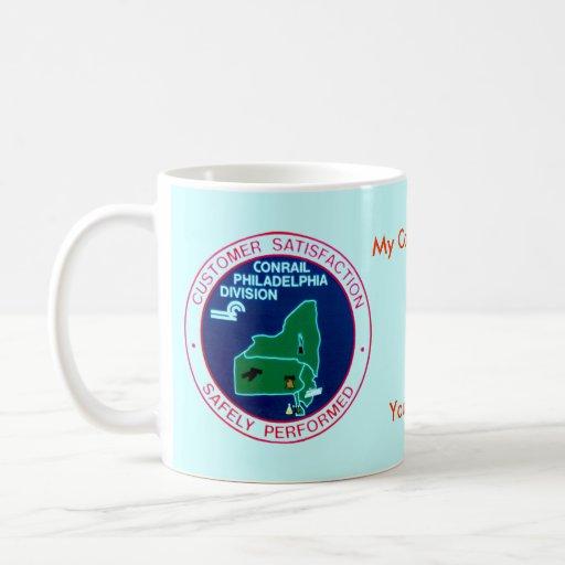 División de Philadelphia del ferrocarril de Conrai Taza De Café