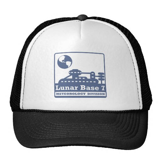 División lunar de la meteorología gorras de camionero