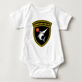 División Nordmeerflotte de Abzeichen 11 de la Body Para Bebé