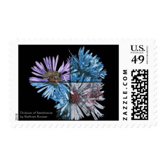 Division of Semblance (Black) Mailing Stamps