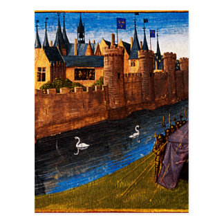 Division of the kingdom of Clotaire Jean Fouquet Postcard
